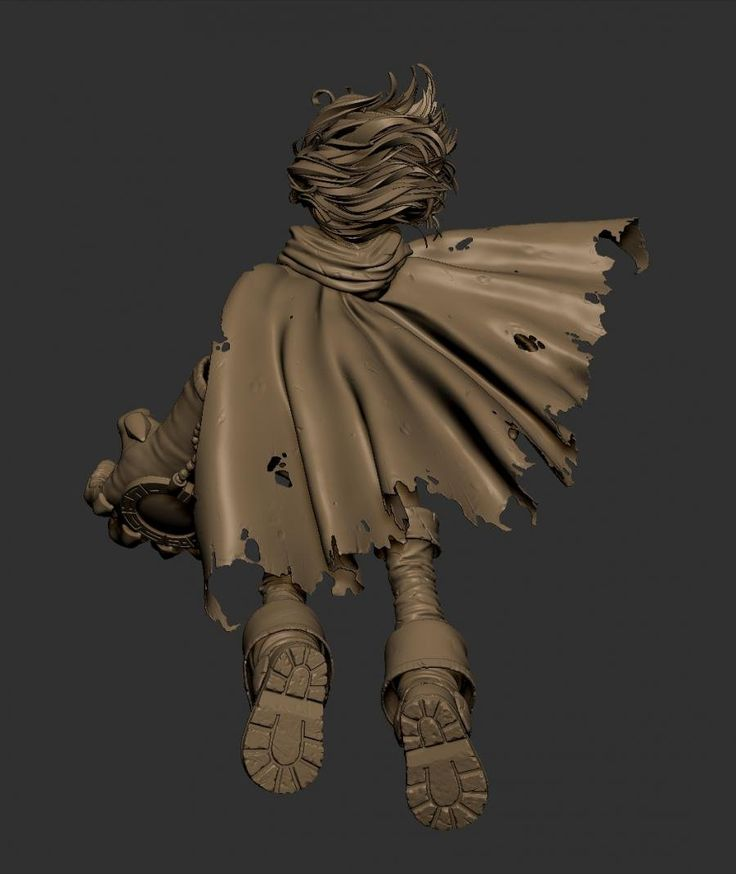 """Here it is my long time project.  Something I started for the """"2014 Comicon Challenge"""" on the Game Artisans' forum that I couldn't finish in time due to personal problems, that has become a model that I work on in my free time. I'll post new images once I have visible improvements  :D  Gully fan art from the comic Battle Chasers by Joe Madureira."""