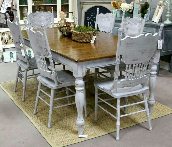 81 best Farmhouse tables images on Pinterest