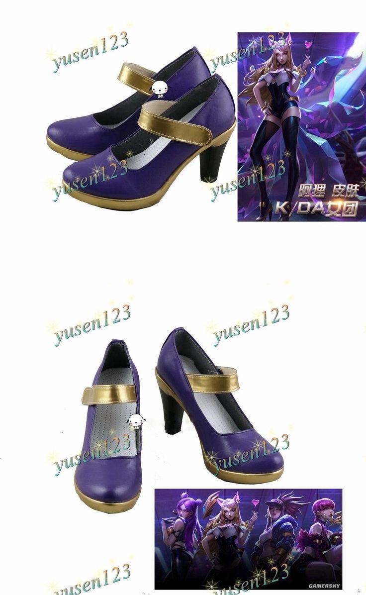 League of Legends Popstar Ahri The Nine Tailed Fox Purple