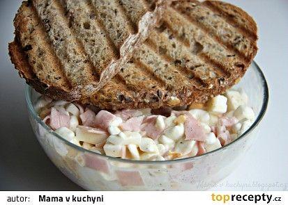 Falešná hermelínová pomazánka recept - TopRecepty.cz