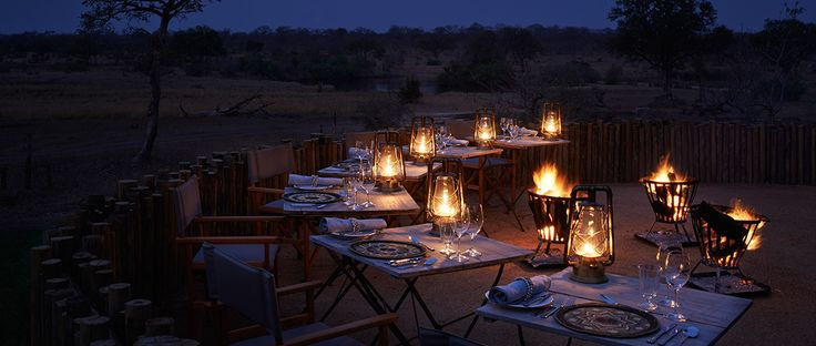 With a private wine cellar guests of Singita Castleton may enjoy superb wine throughout their stay.