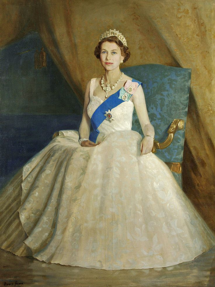 Denis Fildes (1889-1974) — Her Majesty Queen Elizabeth II ...
