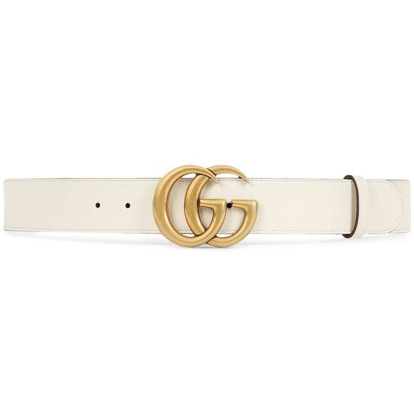Gucci Damen Leather belt with Double G buckle - bei MYBESTBRANDS... (24.135 RUB) ❤ liked on Polyvore featuring accessories, belts, gucci, buckle belt, gucci belt, leather buckle belt and leather belt