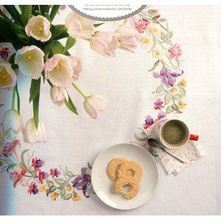 59 besten Tischdecken sticken Stickpackung Bilder auf Pinterest