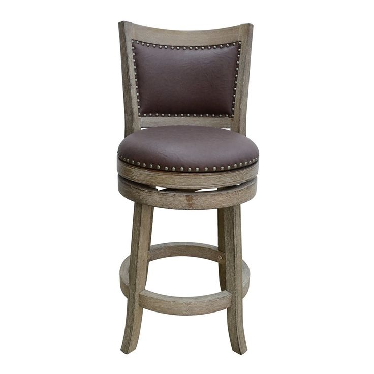 boraam industries wire brush cantabria swivel bar stool - Wayfair Counter Stools