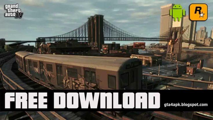 [Download] GTA 4 Android (GTA 4 APK + SD Data)