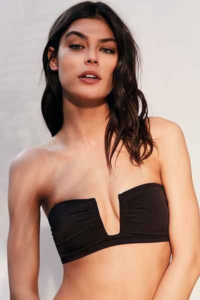 Out From Under Solid Bandeau Bikini Top - Urban Outfitters