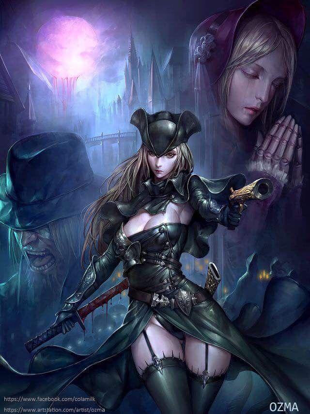 Sexy witch hunter