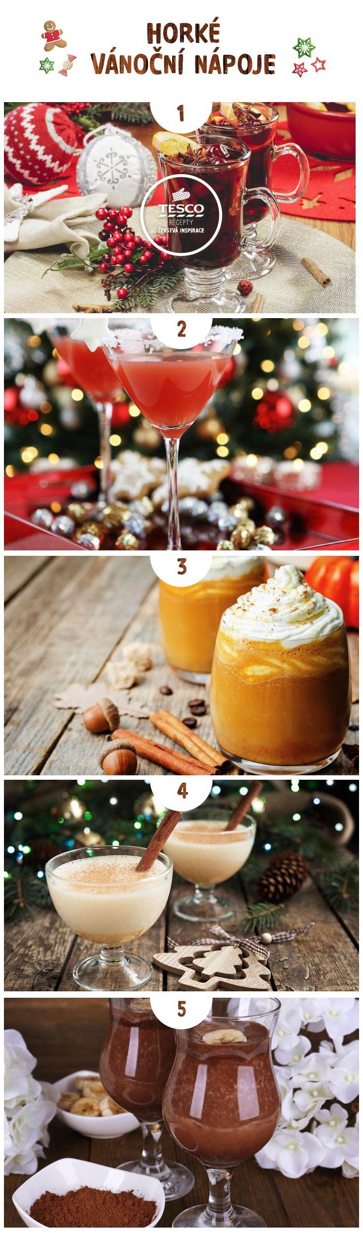 Zahřejte se výbornými horkými vánočními nápoji!