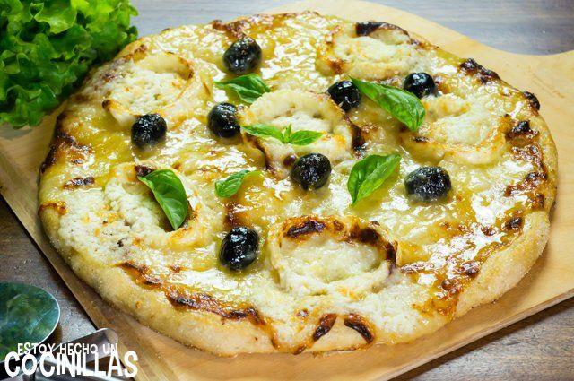 Receta De Pizza De Queso De Cabra Y Miel Recette Pizza Chevre