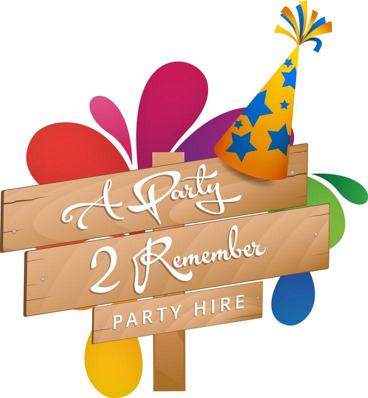 Logo Design Brisbane | A Party 2 Remember Party Hire | http://www.oleymediagroup.com.au/portfolio/logo-design/ #LogoDesign