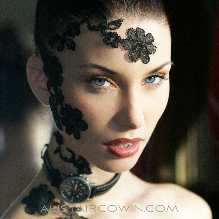 Recently re-worked archive photograph Makeup: Lina Cameron