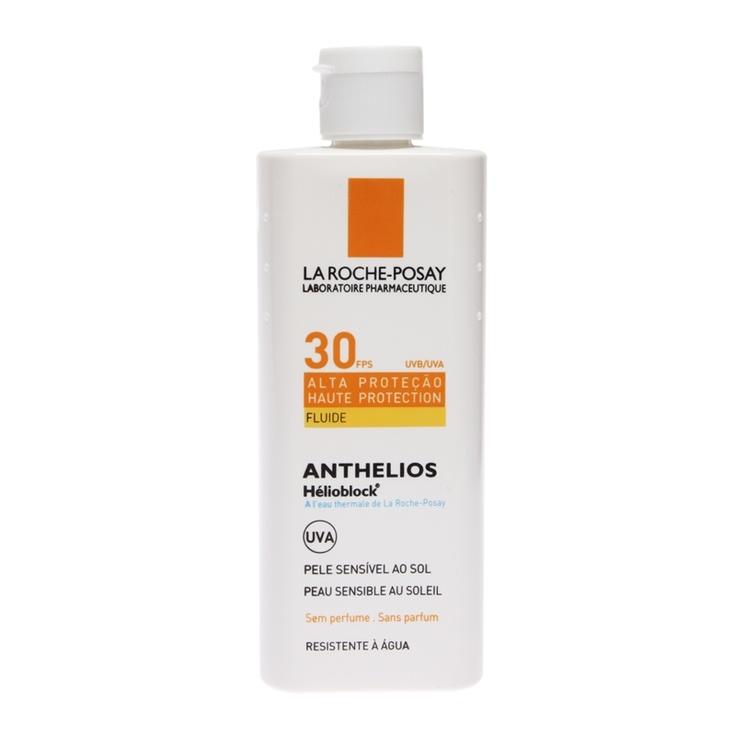 Anthelios Helioblock Fluide FPS 30 Protetor Solar Rosto e Corpo