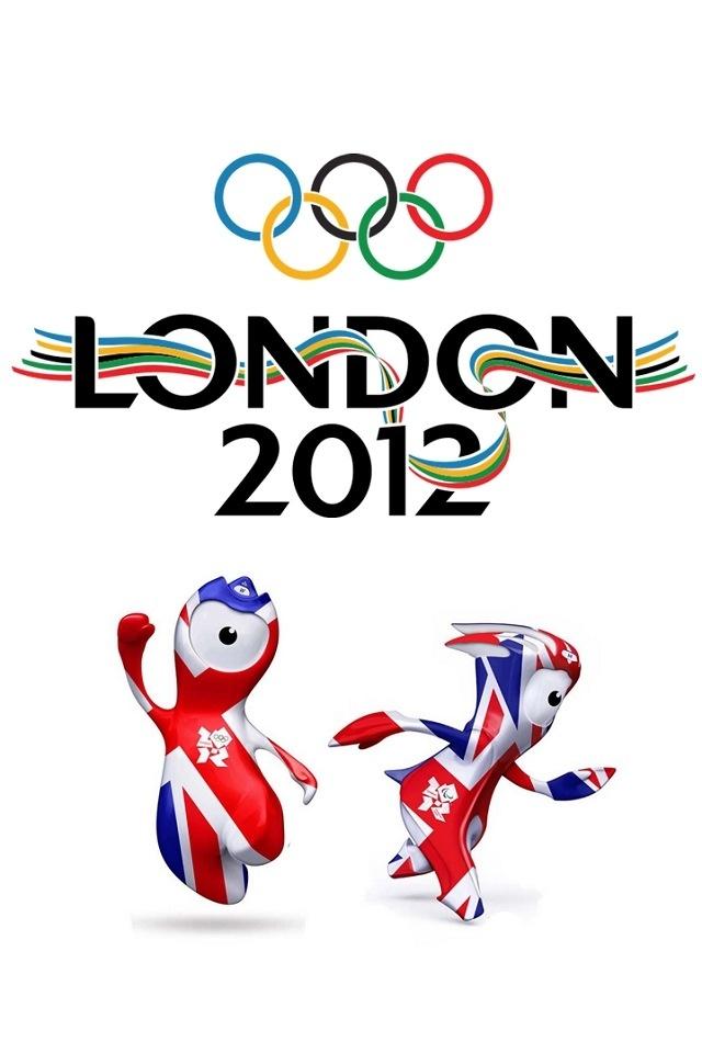 London 2012 mascots poster