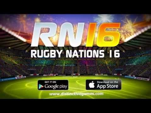 Check out the official trailer for #Rugby Nations 16 now!