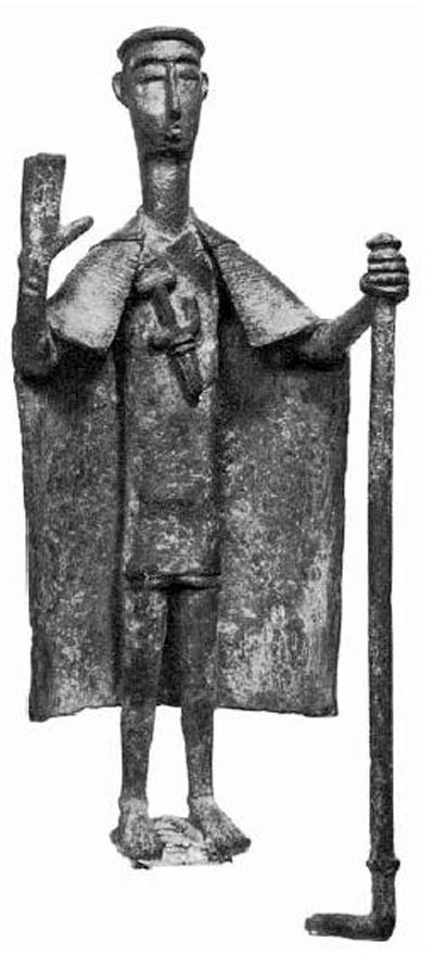 Sardinia, bronze sculpture representing a #Shardana chief