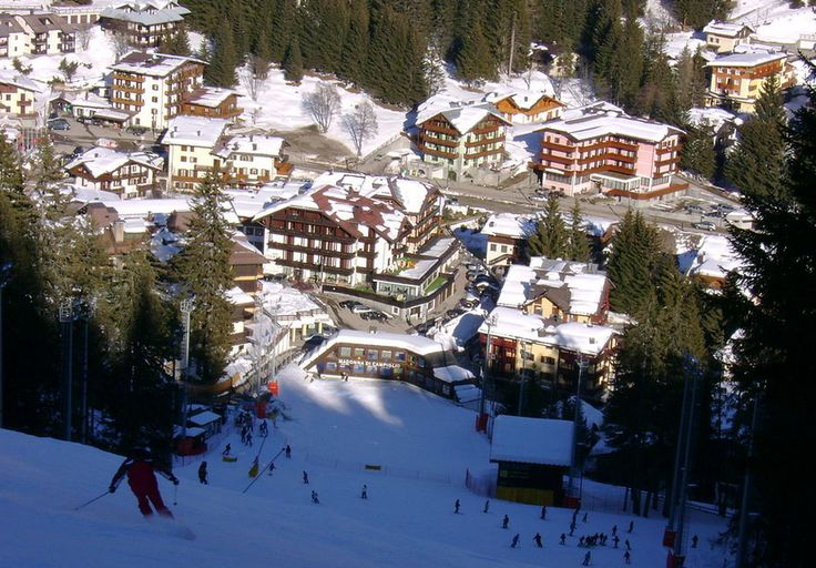 Dear traveler,  today I invite you to Madonna di Campiglio, the pearl of the Brenta Dolomites. Madonna di Campiglio, a discreet and elegant town nestling at an altitude of 1550 metres in the stupendous valley between the Brenta Dolomites and the glaciers of Adamello and Presanella, one of the most famous and glamour resort of the Alps.