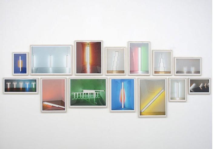 Topologies of light, 2012  Archival pigment inkjet print on photobase paper  141 x 384 cms. overall  Ed. ¼