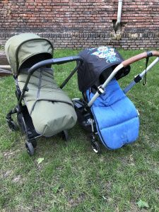 iCandy Raspberry2 vs Bugaboo Bee5 Fußsack footmuff - Buggy - stroller - parent-facing rückwärts