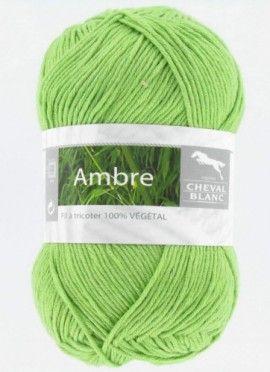 Fil à tricoter spécial été ! AMBRE : un fil tout doux aux couleurs gourmandes.