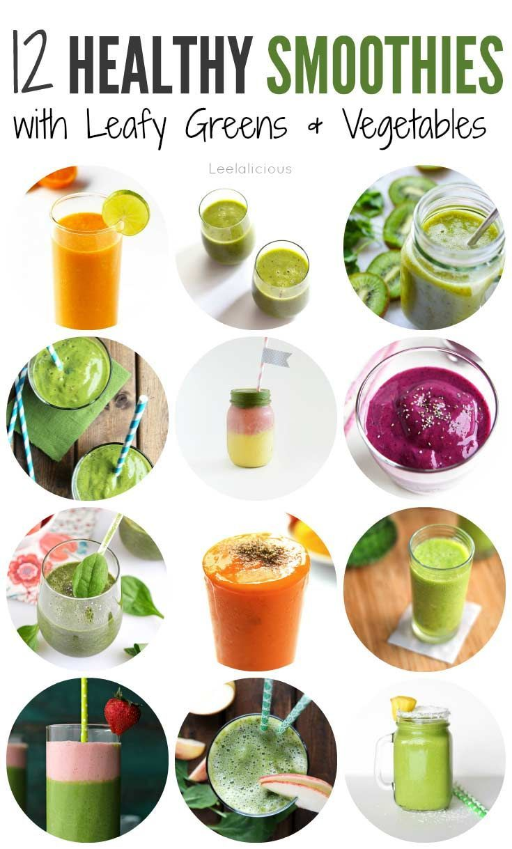 healthy shake recipes 12 healthy smoothie recipes with leafy greens or 12046
