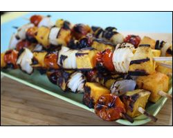 Spiced Butternut Squash on a stick | Sides for Dinners | Pinterest