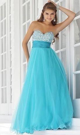 Liza modré plesové šaty na maturitní ples - plesové šaty, svatební šaty, společenský salón