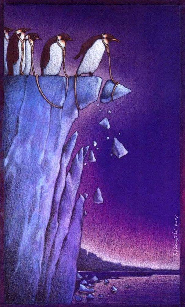 satirical-art-pawel-kuczynski-21.jpg (605×1003)