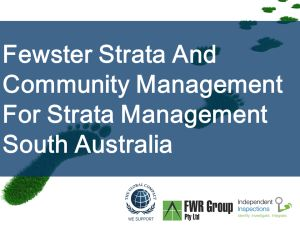 Independent Inspections: Fewster Strata And Community Management - Strata M... http://iigi.com.au/services/strata-services/