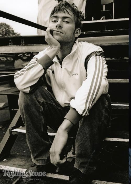 Damon Albarn - Blur Met this guy once when I bumped into him at the Tate in London! He gave me a lovely smile :0) Awesome guy!