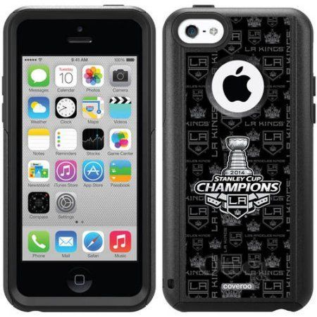 L.A. Kings Stanley Cup Champions '14 Design on OtterBox Commuter Series Case for Apple iPhone 5c