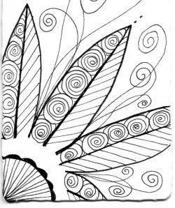 easy zentangle patterns color - Buscar con Google