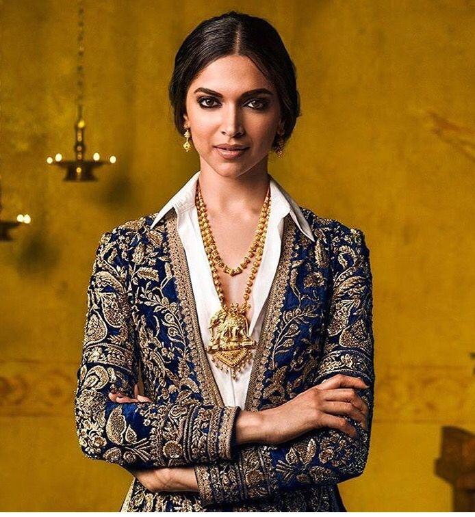 Deepika in sabyasachi order at thebollywoodcloset @gmail.com