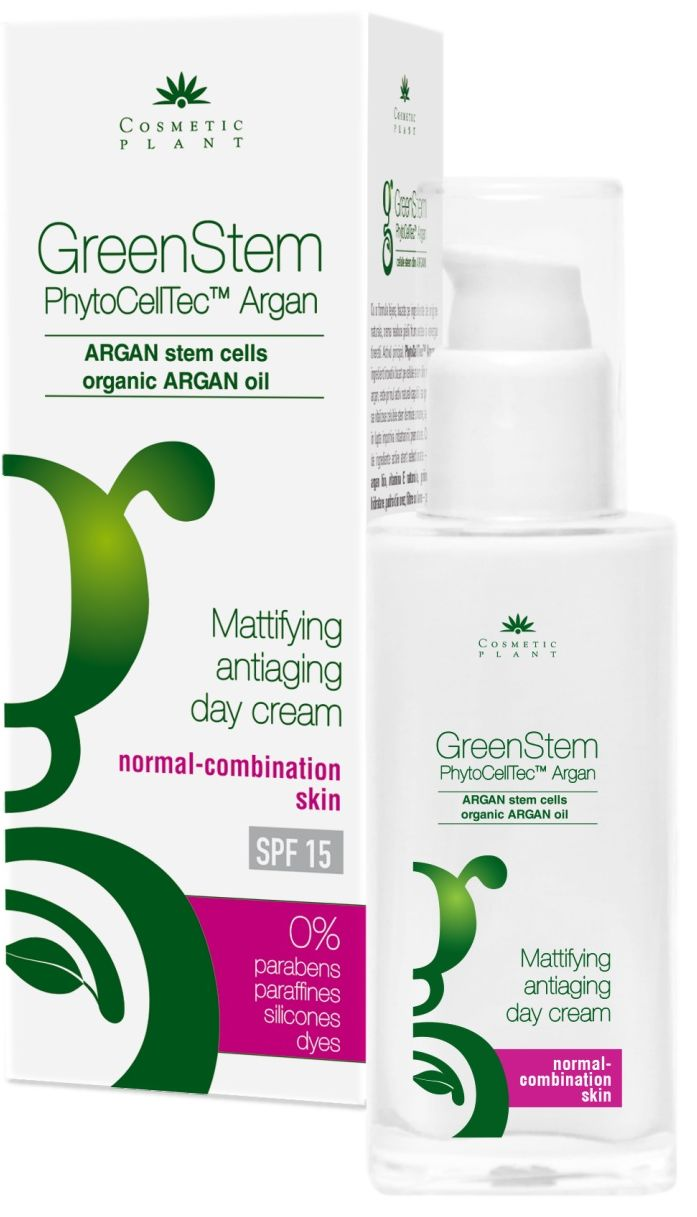 GreenStem Mattifying Antiaging Day Cream For Normal-Combination Skin