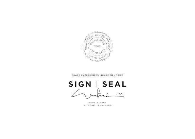ジュエリーブランド SIGN&SEAL logo