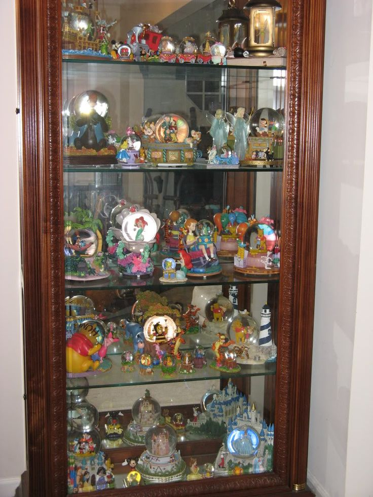 Would Love To Display My Disney Globes Like This Disney
