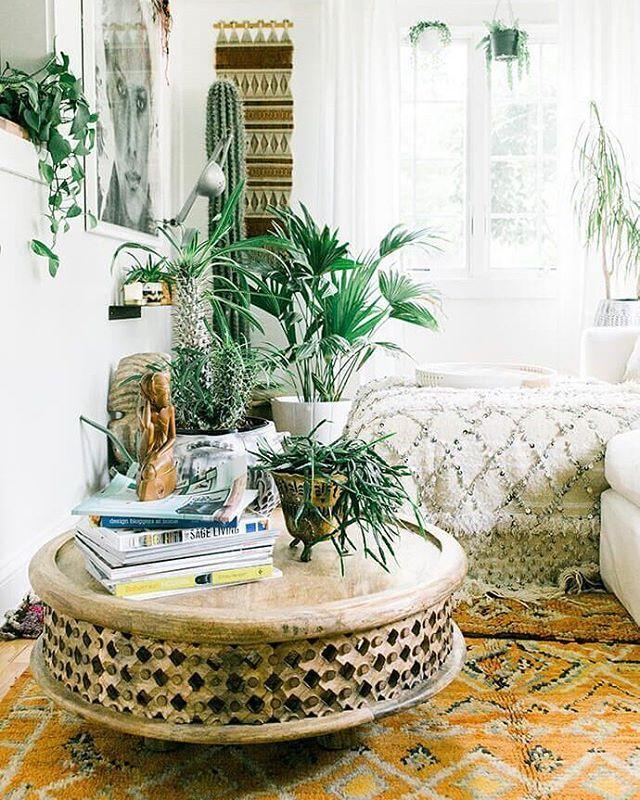 Plant heaven in@fleamarketfab's house! (via @glitterguide  by @carlaypage)