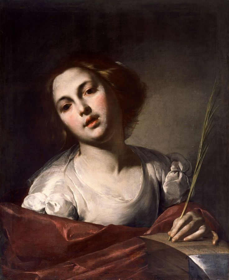 Saint Catherine of Alexandria Naples, the end of the 1640s Oil on canvas 71.7 x…