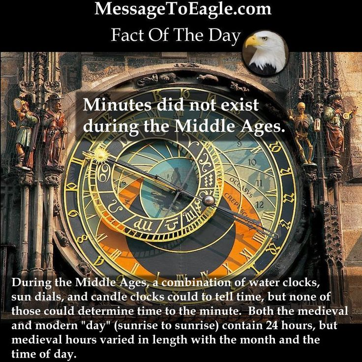 Ancient History Facts: Minutes Did Not Exist During The Middle Ages