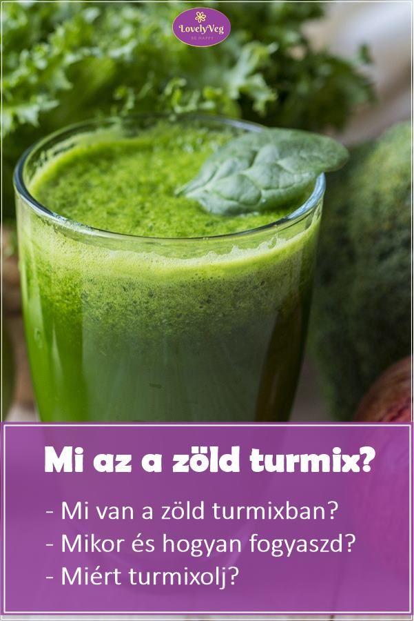 zöld lé a fogyás ételek receptek