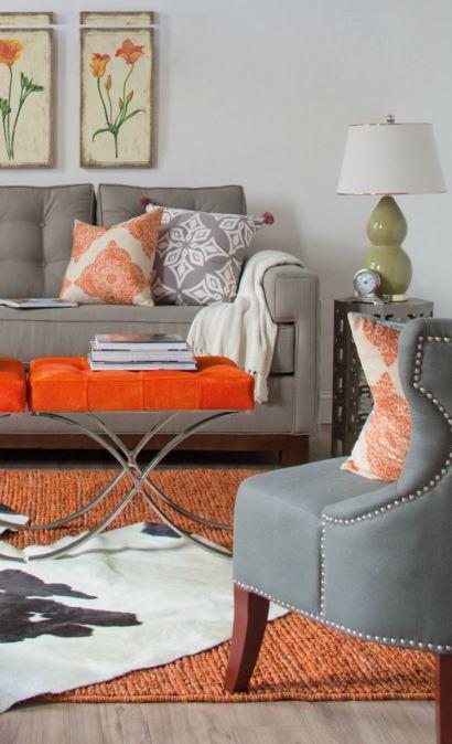 Orange and Grey via En.paperblog