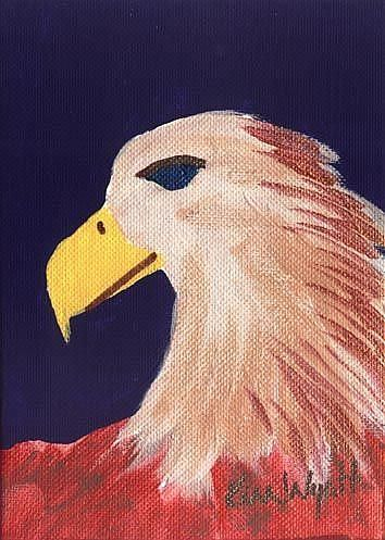 Art: Eagle by Artist Kim Wyatt