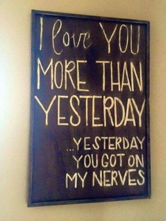 Lol. Suits our home, we love quirky/funny wall art