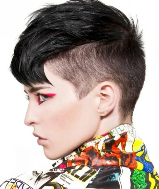 funky short hairstyles for women | Funky Brunette Hairstyles