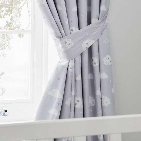 Sweet Dreams Blackout Pencil Pleat Curtains | Dunelm