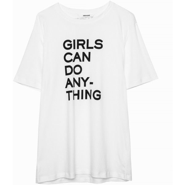 Bella T-Shirt (285 BRL) ❤ liked on Polyvore featuring tops, t-shirts, t shirt, white tee, white top, cotton t shirts, white t shirt and white cotton tops