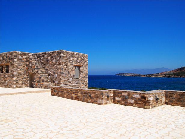 Paros Stonehouse   G&A EVRIPIOTIS   Archinect