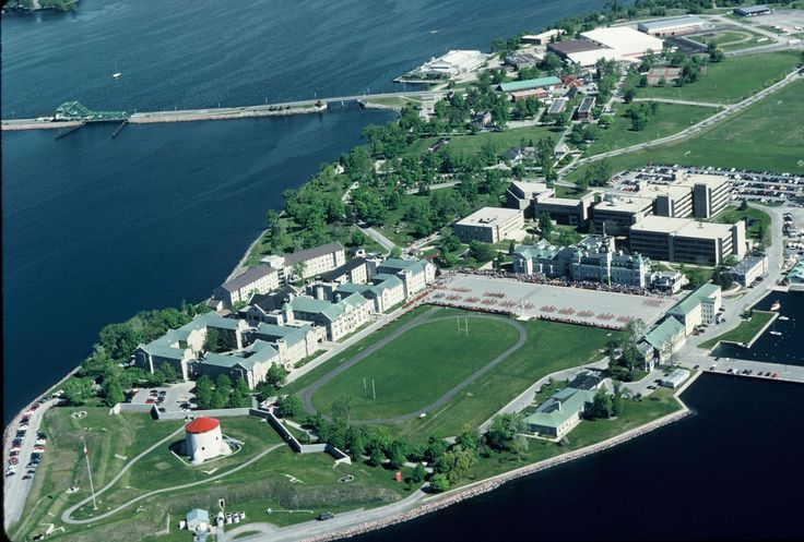 The Point, Fort Frederick and RMC.  This strategic place where Lake Ontario and the St. Lawrence river meet houses the Royal Military College since 1876.  Kingston ON