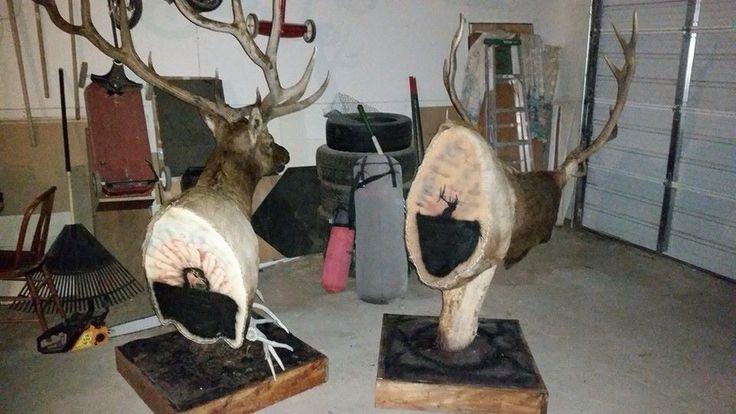 Elk mount fireplace - photo#42