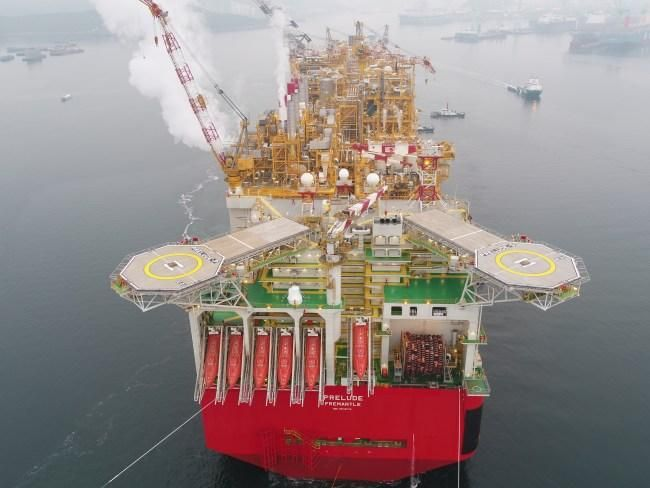 World's largest ship, Shell's floating LNG vessel Prelude, heading to WA | Perth Now